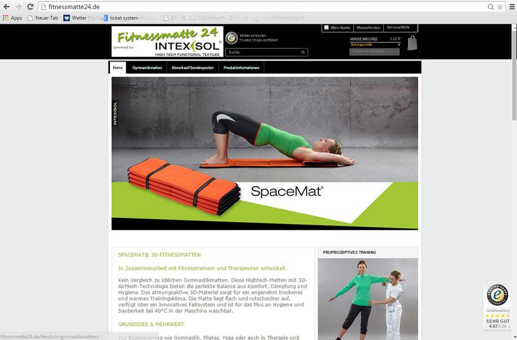 Fitnessmatte24.de