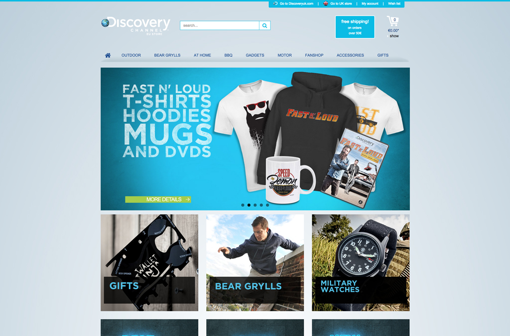 Discovery Channel EU Store