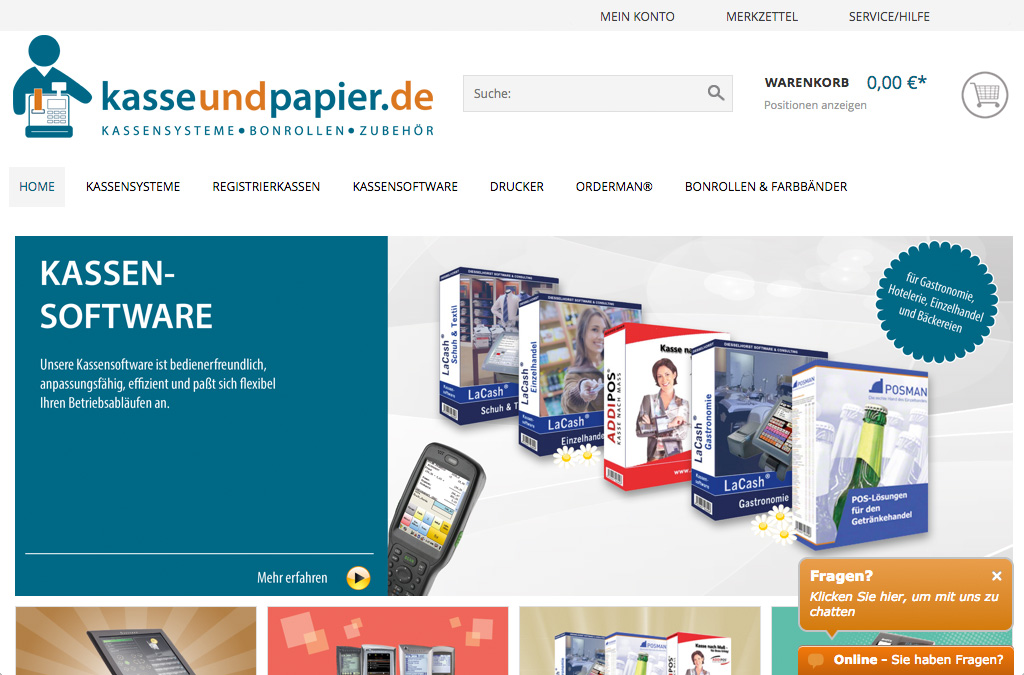 kasseundpapier.de