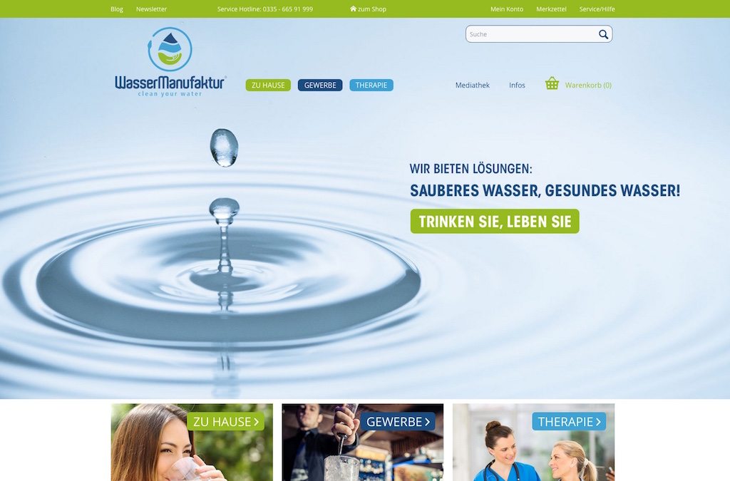 WasserManufaktur.com