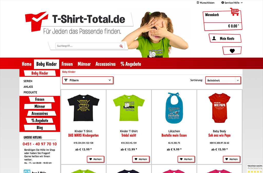 T-Shirt-Total.de