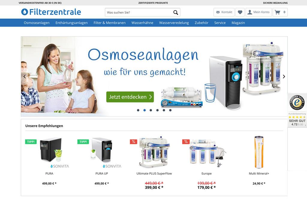 RDL Group GmbH- Filterzentrale