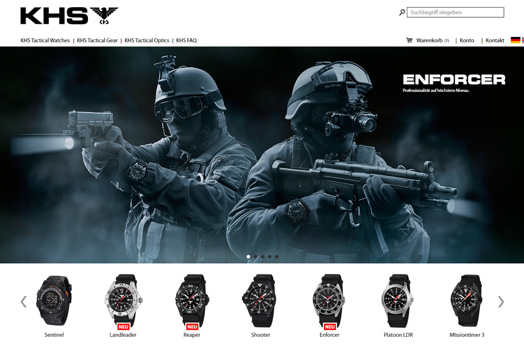 KHS Tactical Watches
