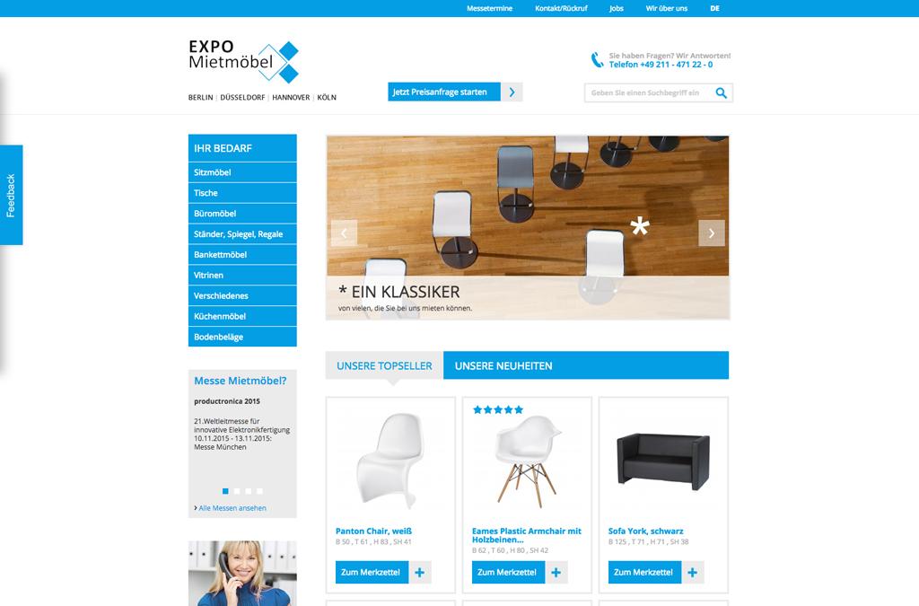EXPO-Mietmöbel