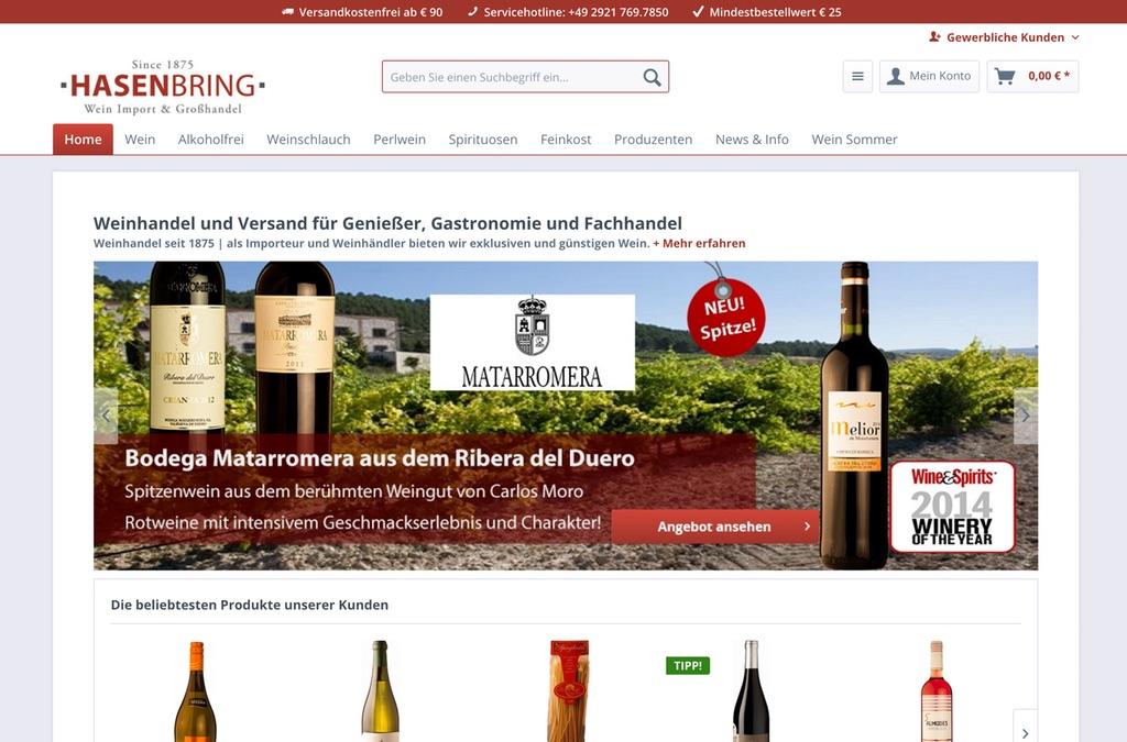 Hasenbring - Wein-Shop