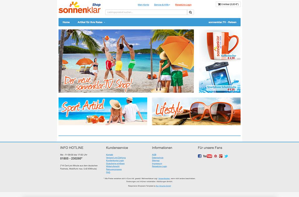 Sonnenklar.tv Shop