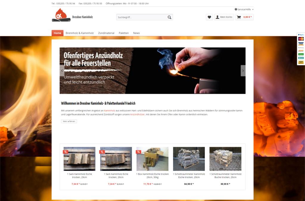 Dresden Kaminholz und Palettenhandel