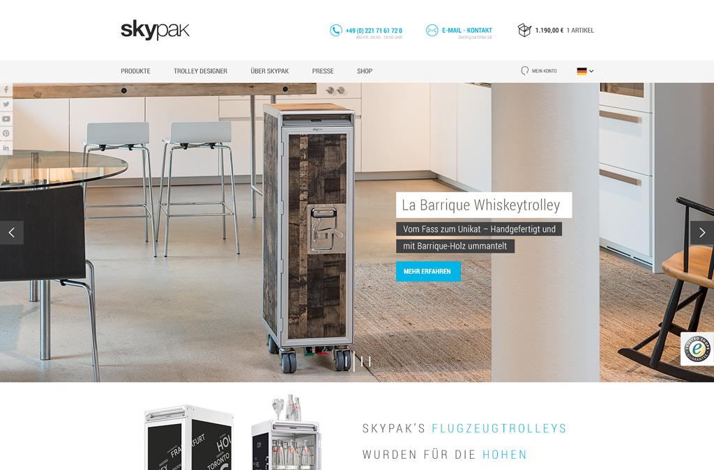 Skypak Onlineshop