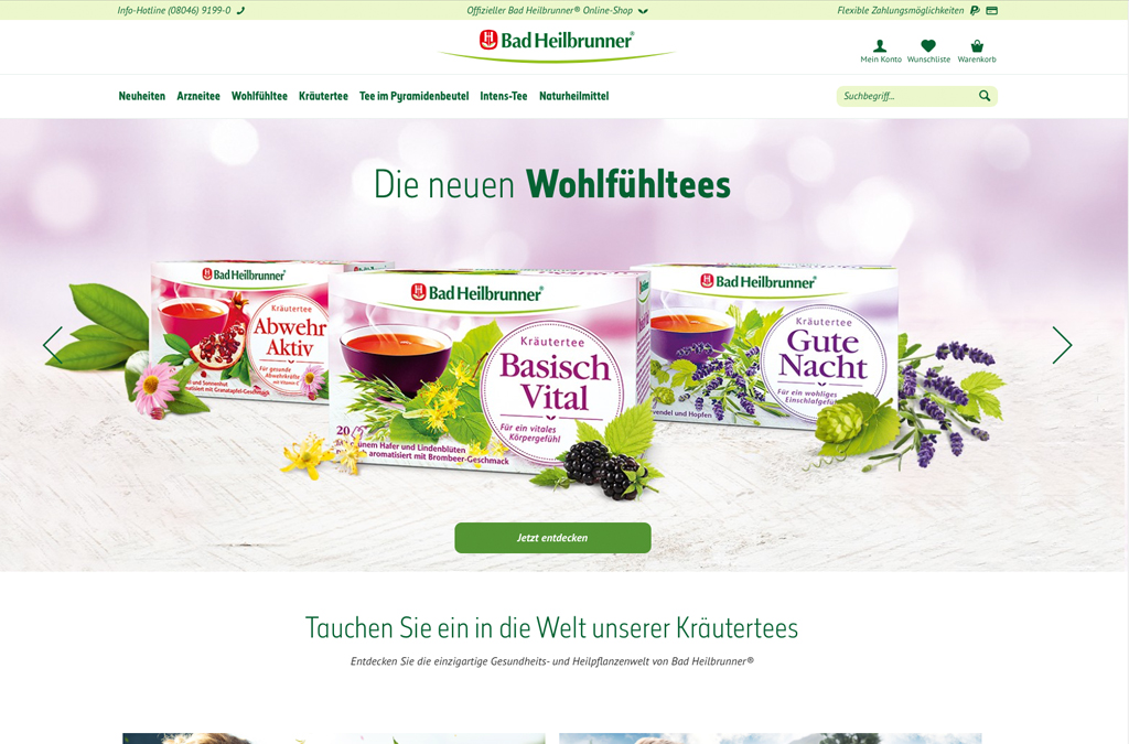 Bad Heilbrunner Online-Shop