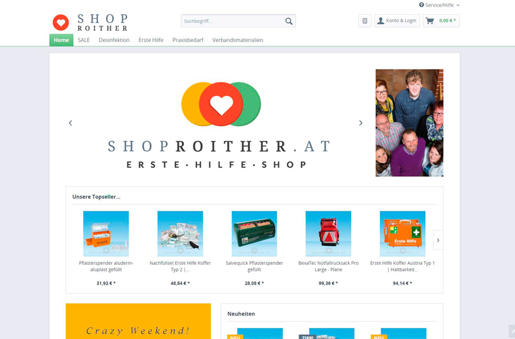 SHOP ROITHER