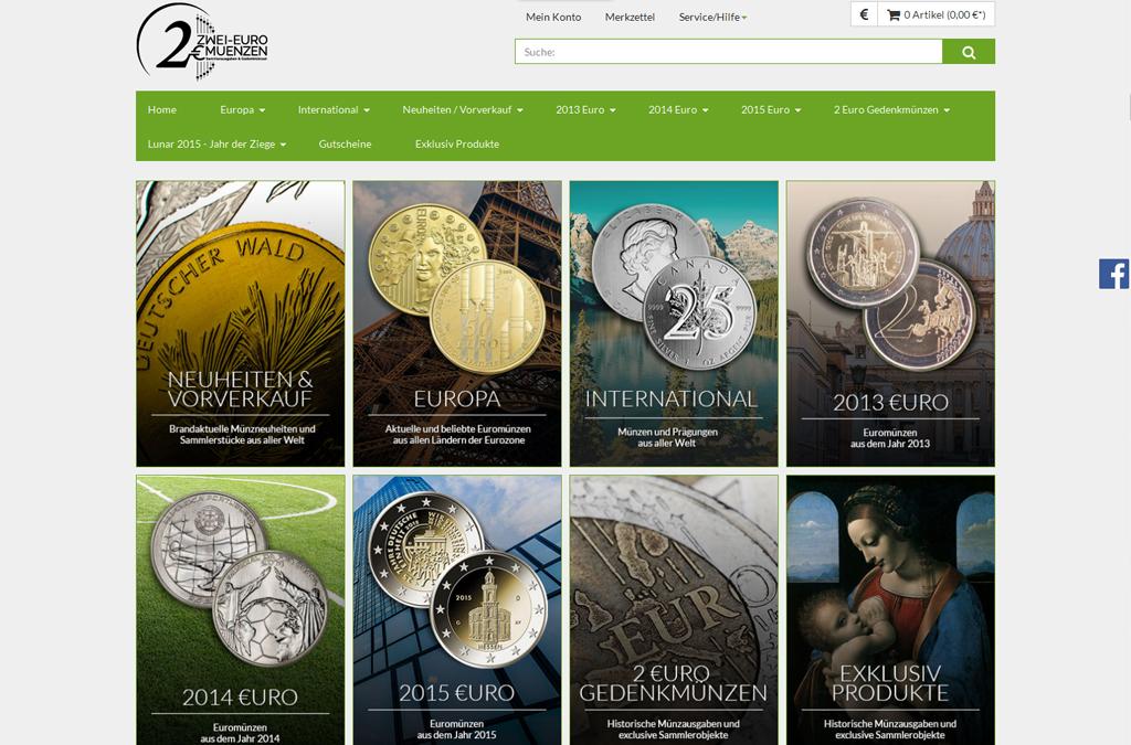 Zwei-Euro-Münzen