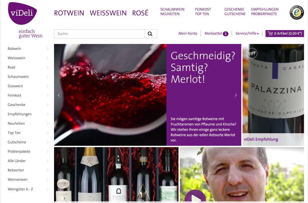 viDeli – einfach guter Wein