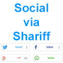 Social via Shariff