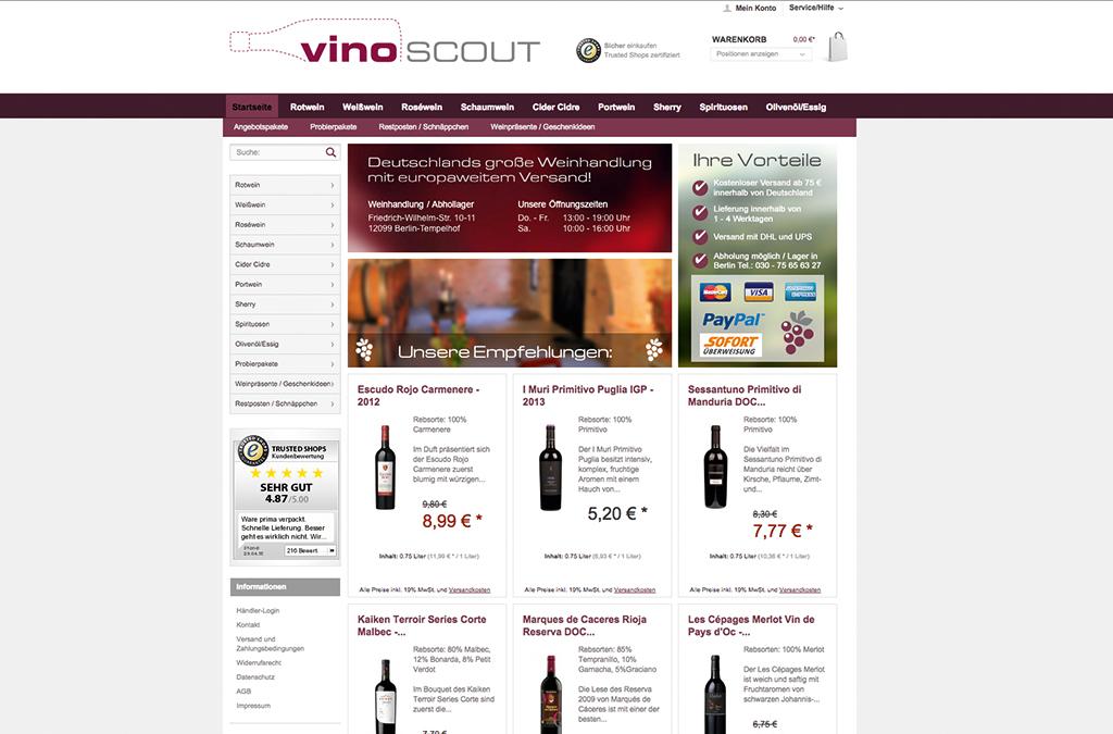 Vinoscout.de - Die große Weinhandlung