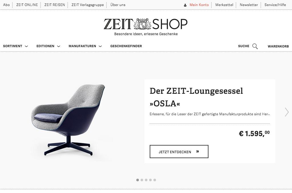 ZEIT Shop