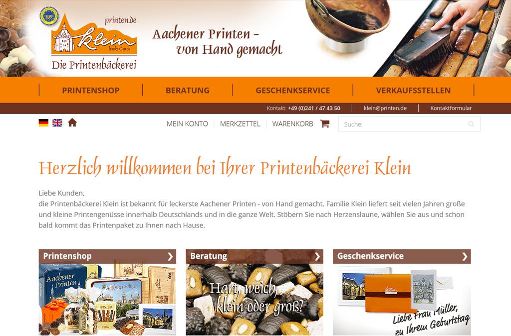 Printenbäckerei Klein
