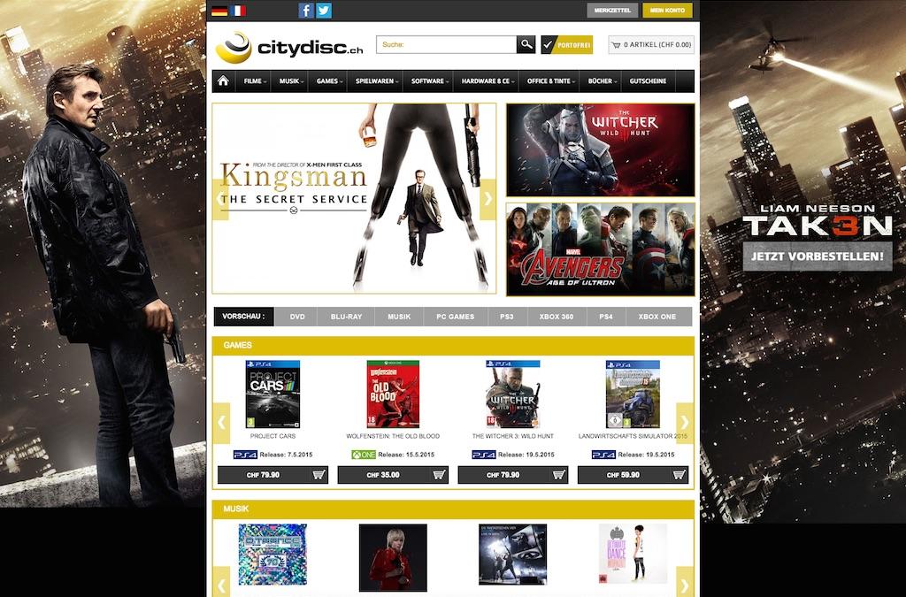 Citydisc.ch