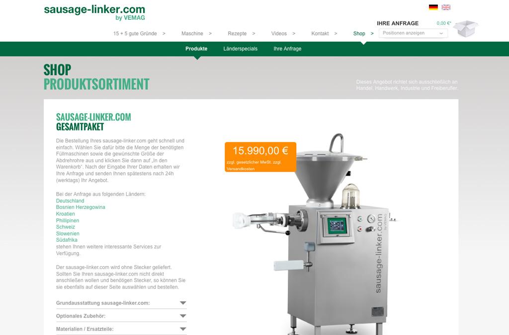 sausage-linker.com